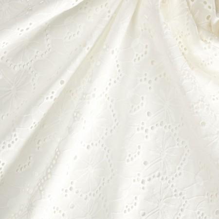 Bordado algodon blanco