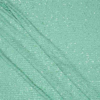 Ligth green edge mini sequins