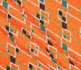 Acid orange multicolor design