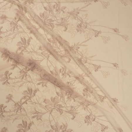 Skin orchid embroidery
