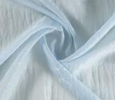 Jacquard organza azul claro