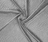 Jacquard lame gris plata