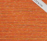 Jacquard chanel naranja turquesa