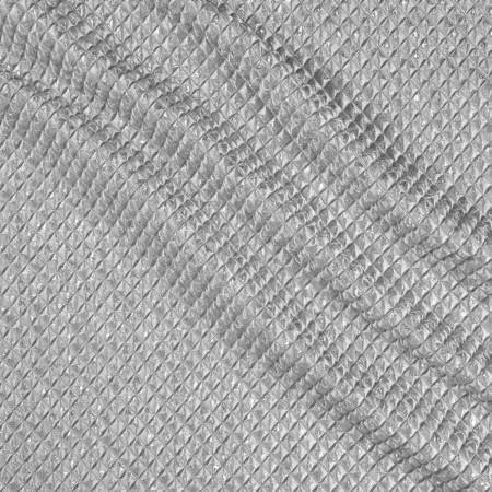 Jacquard rombos lame gris