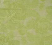 Organza fil coupe verde