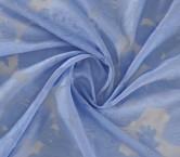 Organza fil coupe lavanda
