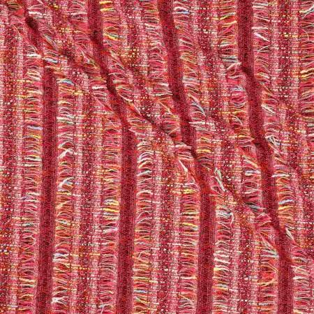 Jacquard chanel rojo