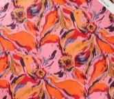 TafetÁn estampado cinzato rosa