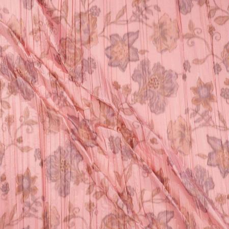 Pink 106 estampada plisada