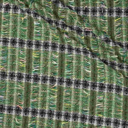 Jacquard chanel raya verde