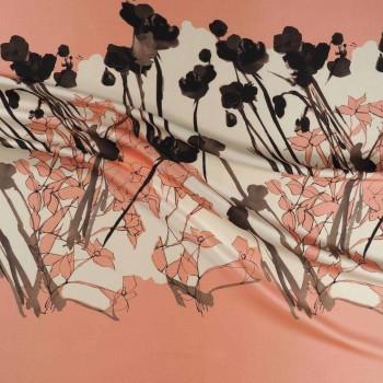 Petal pink estampado flor 584