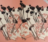 Mikado estampado pano 111cm rosa pÉtalo