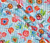 Multicolor estampado flor lucy