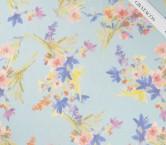 Estampado gloss flor azul