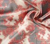 Pink jacquard organza