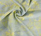 Jacquard flor lame = 62706 verde turquesa