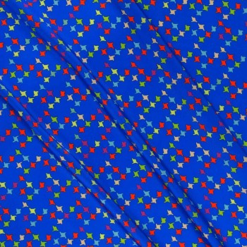 Multicolor blue ground dis.g03