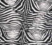 Raso de algodÓn elÁstico animal print