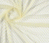 Yellow flower tulle
