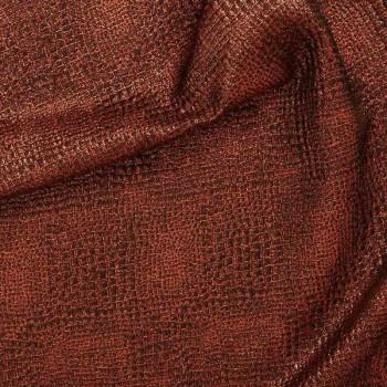 Jacquard caiman cobre
