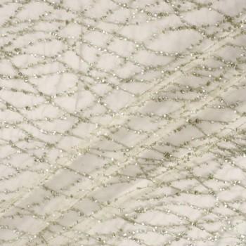 Silver bordado pedreria