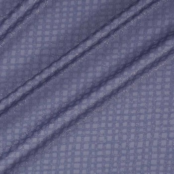 Fantasia lame azul gris