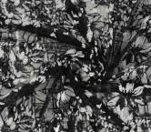 White black bordado sequins