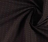 Jacquard geometrico lurex azul marron