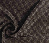 Jacquard lame granate
