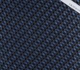 Jacquard geoemtrico azul marron