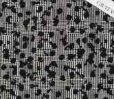 Jacquard lana negro