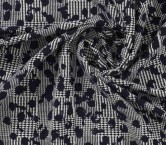Jacquard lana marino