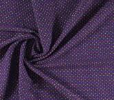Jacquard geometrico violeta rosa