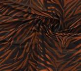 Jacquard lame cobre