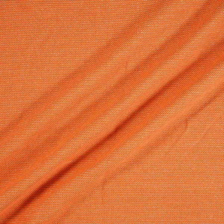 Jacquard lana naranja