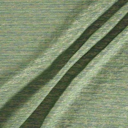 Green chinilla lame
