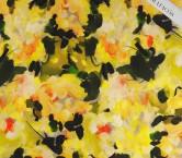 Mikado estampado flor amarillo