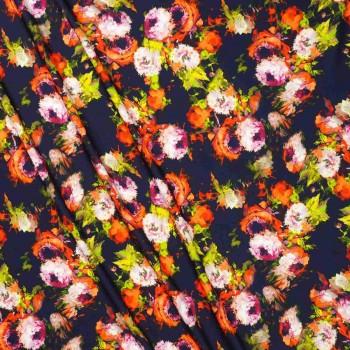Pink coral estamp. flor 177