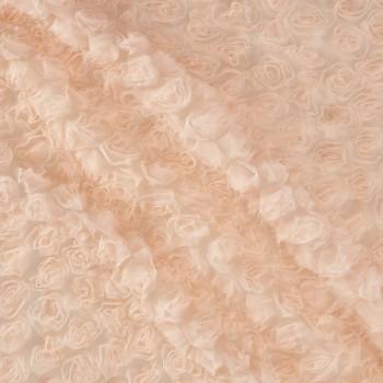Flores 3d nude rosa