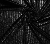 Lines on velvet negro