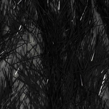 Black stick sequins