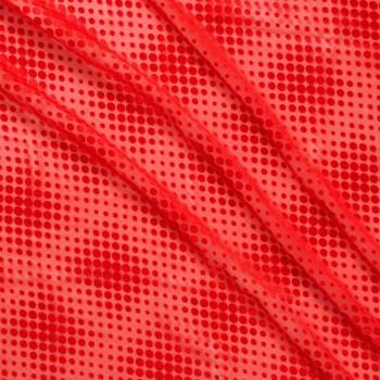 Gasa circulos rojo