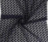Navy bordado hilo lame
