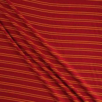 Orange bordo viscosa rayas