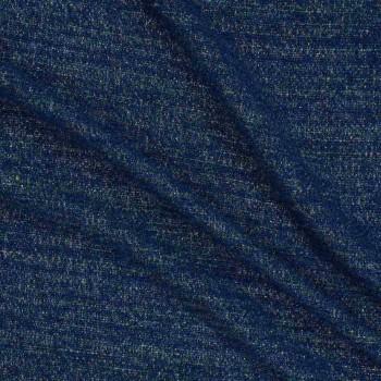 Chanel lame azul