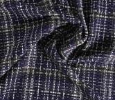 Violet jacquard lana