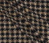 Jacquard lana lame marron
