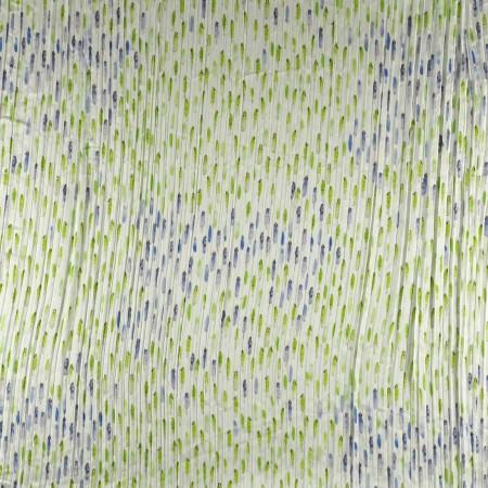 Estampado pier pl plisado azul verde