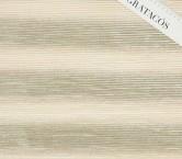 Ivory plisado foil