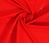 Red jersey small sequins